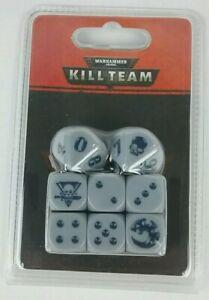 Necron Dice Kill Team NiB Rare