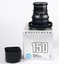 Hasselblad V system Carl Zeiss Sonnar C 150mm F4 black lens in makers box.