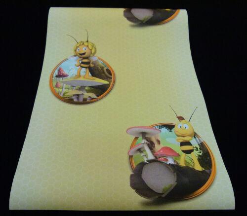 """94182-3-4 L/'abeille Maja/"""" 1 Rôle de haute qualité chambre enfant Papier papier peint /""""orig"""