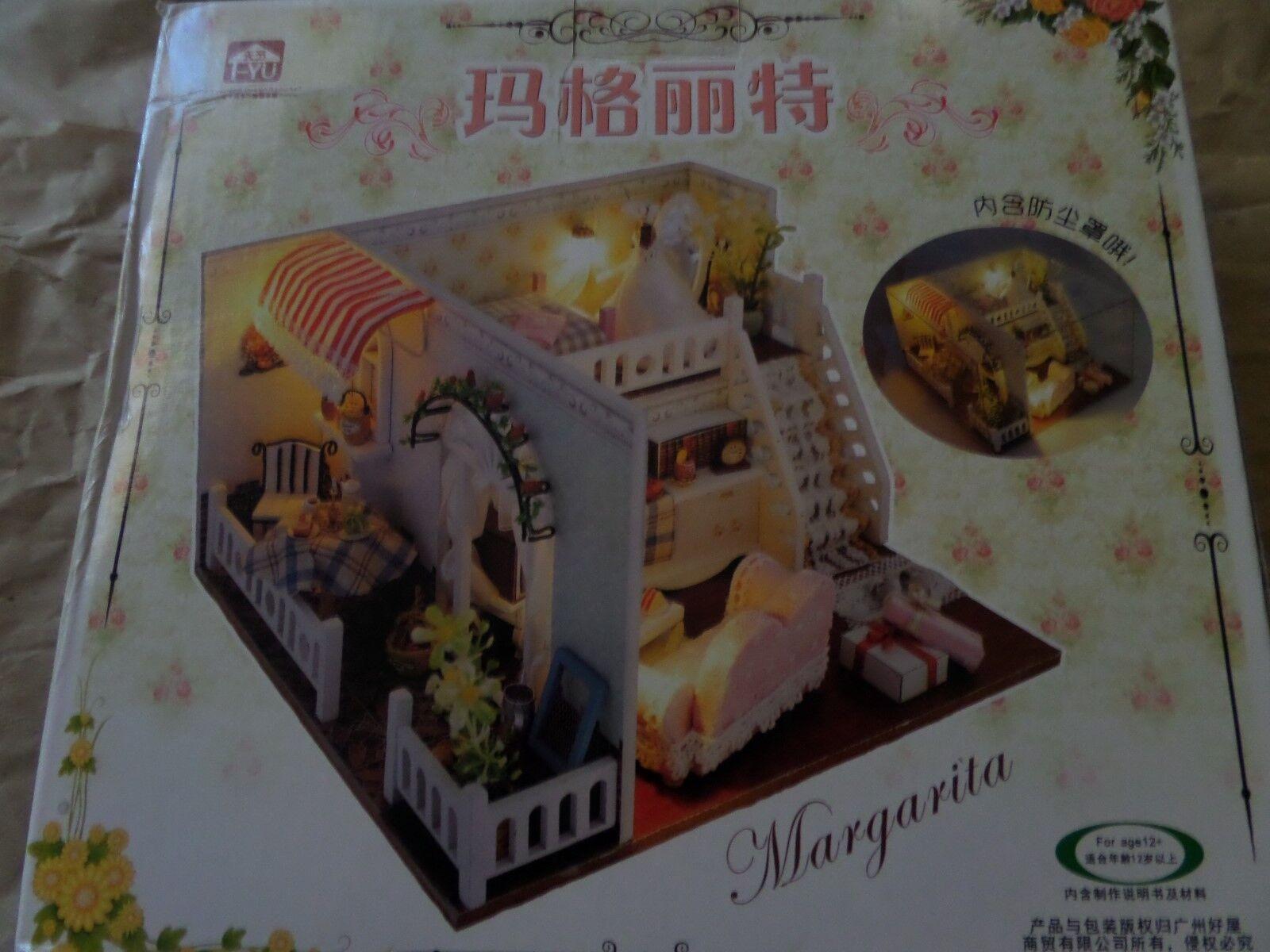 Miniature Dollhouse Kit Kit Kit Margarita Split rooms 8fc981