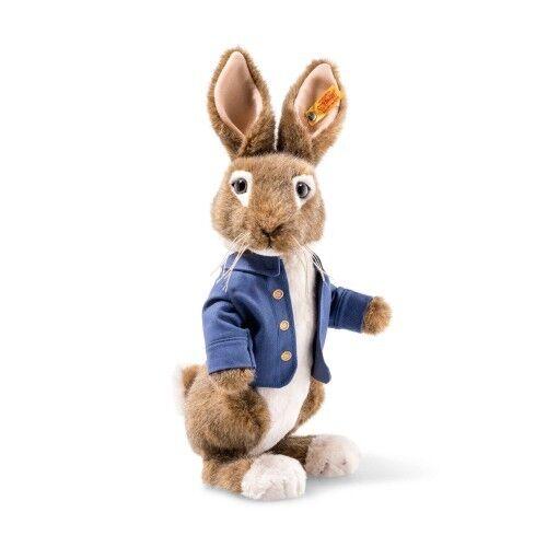 Steiff Beatrix Potter Film Peter Rabbit Peluche con Gratis Scatola 355240
