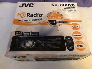 New JVC KD-HDR20 AM/FM/CD player car stereo HD radio Lambo Ferrari BMW