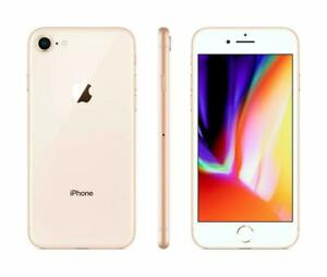 Apple iPhone 8 64GB Fully Unlocked (GSM+CDMA) AT&T T-Mobile Verizon Gold