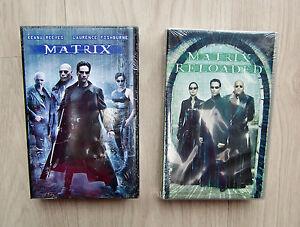 MATRIX, MATRIX RELOADED, 2 VHS-Kassetten, NEU, OVP - Deutschland - MATRIX, MATRIX RELOADED, 2 VHS-Kassetten, NEU, OVP - Deutschland