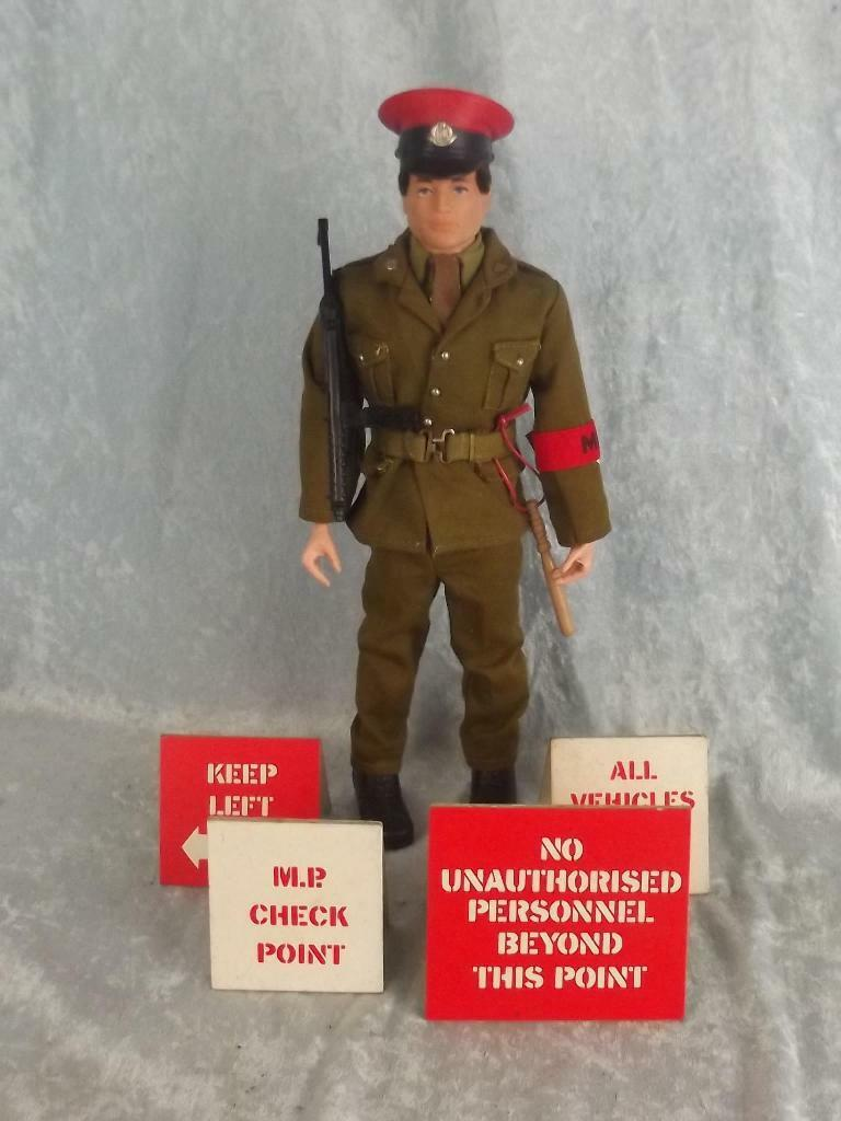 1970's Palitoy 1st Issue Royal Military Police Action Man