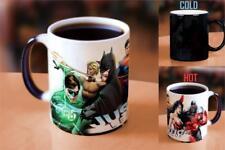 124200 JUSTICE LEAGUE DC COMICS SUPERHERO HEAT CHANGE 340ML COFFEE MUG CUP
