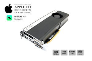 Details about  NVIDIA GTX 680 Plus 4GB GPU for Apple Mac Pro: CUDA, METAL  Support and 4K