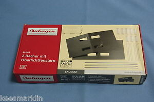 Auhagen-80-301-Two-roofs-with-Skylights-Un-build-KIT-HO