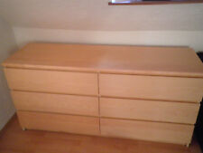 Ikea Malm Kommode 4 Schubladen Birke Ebay