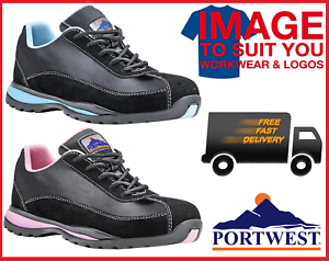 Portwest Steelite Ladies Safety Trainers S1P Hro Fw39