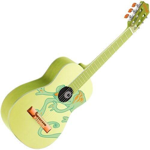 Stagg 1 4 Linden Classic Kindergitarre Chameleon grün   Neu