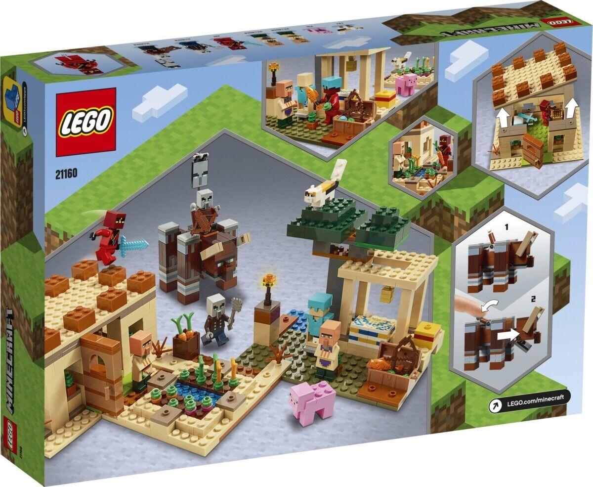 LEGO® Minecraft™ 21160 Der Illager-Überfall NEU & OVP