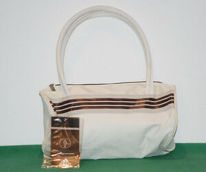 b48bc4446fe1 Caricamento dell immagine in corso NOS-adidas-vintage-bag-HAND-BAG-leather- tennis-