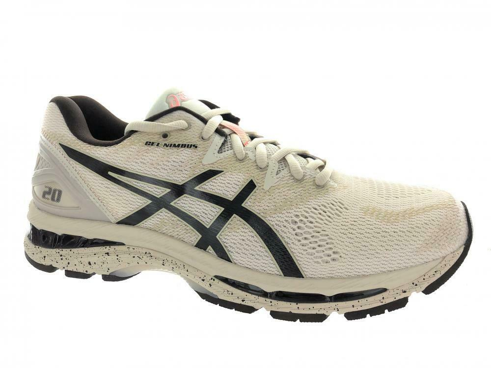 Men's Asics GEL-Nimbus 20 SP Running Athletic shoes Birch Coffee Blossom