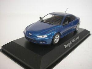 Peugeot-406-Coupe-1997-Blue-Metallic-1-43-maxichamps-940112620-New