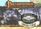 Pathfinder From HELLS Heart Skull & Shackles Adventure Deck 6 Card Game