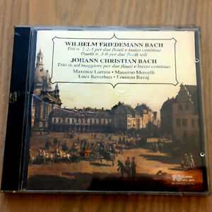 W-F-Bach-amp-J-C-Bach-Flute-Trios-amp-Duets-CD-1994-NEW-amp-SEALED