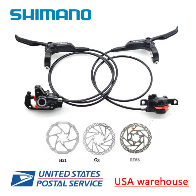 LEFT  BL-M395//BR-M395 396 New Shimano Hydraulic Bicycle Disc Brake FRONT