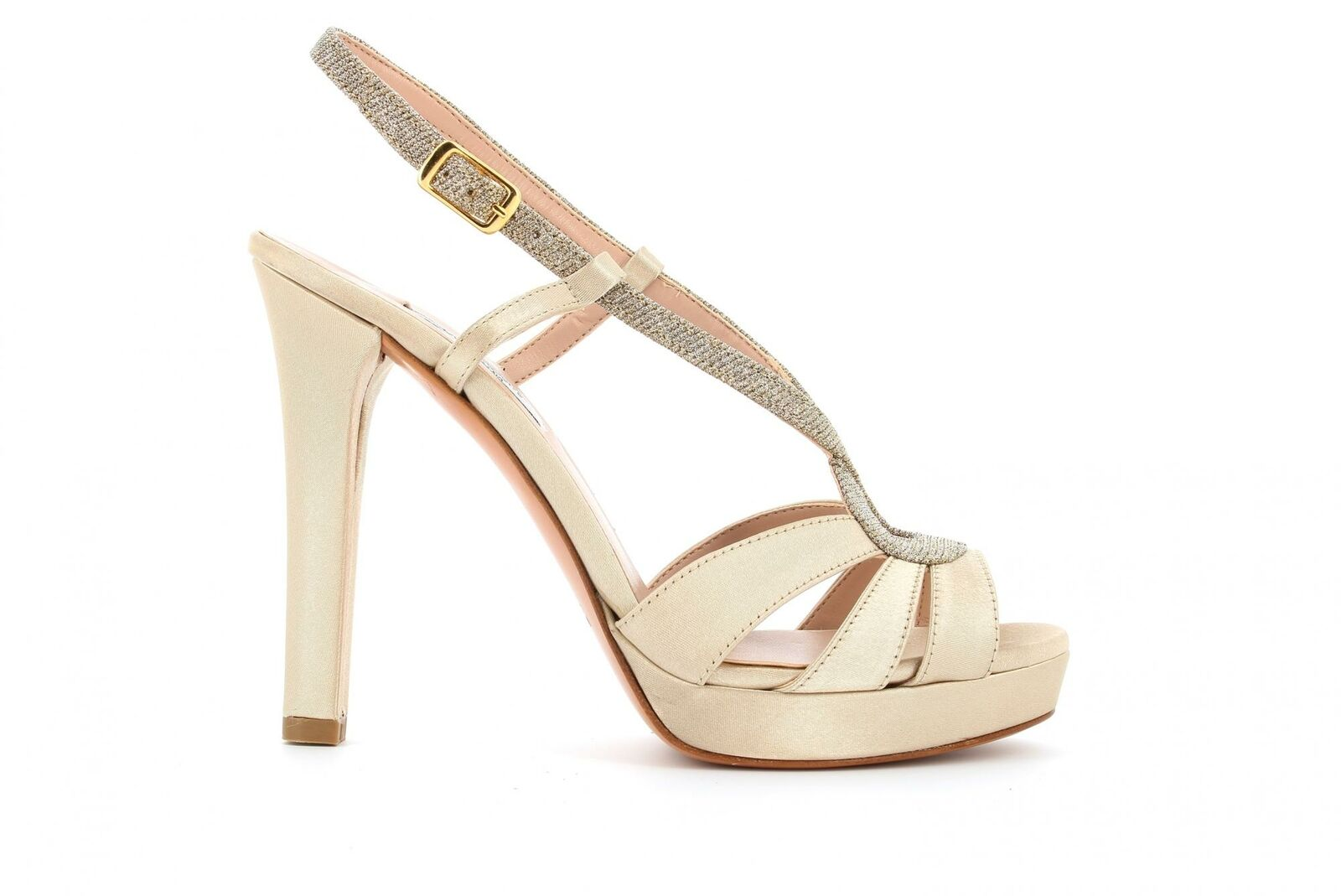 L& 039;Amour shoes Woman Sandal 919 Beige p19