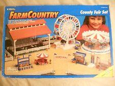 Ertl Farm Country Toy County Fair Livestock Animal Set MIP 1/64!! Tractor