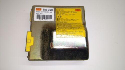 92 93 CiViC OEM SRS CONTROL UNIT 77960-SR3-A82 computer relay air bag module
