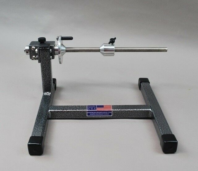 Table top Speed Spooler, bulk spool holder  with tension brakes, line spooler  sale