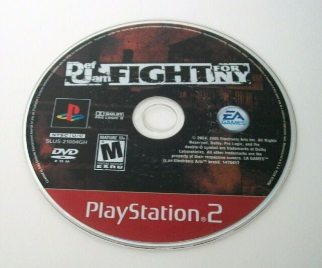 Def Jam Fight for NY OUT OF STOCK