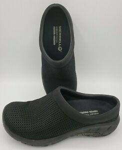 Merrell-Encore-Breeze-3-J48250-Black-Slip-On-Mesh-Comfort-Mules-Women-039-s-US-6-5