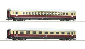 """Roco H0 74074 Wagen-Set 3 """"TEE 74/75 Roland"""" der DB 1:87 - NEU + OVP"""