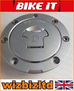Bikeit-Bloqueable-Tapa-Del-Deposito-Gas-Tapa-W-2-Llaves-Honda-VFR-750R