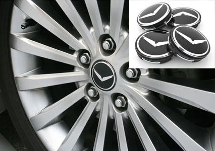 Eagle Wheel Center Cap V 60mm Emblem 4p 1set For 07 12 Hyundai Veracruz ix55