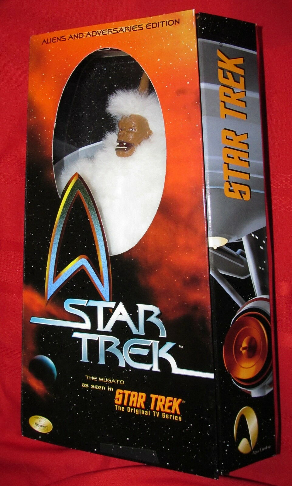 Star Trek Trek Trek  --  12  MUGATO---COLLECTOR'S EDITION 1999 MIB 254a73