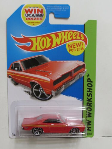 MUSCLE MANIA 1974 BRAZILIAN DODGE CHARGER RED HOT WHEELS 2014 HW WORKSHOP