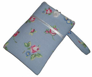 Rose-Blue-Shabby-Chic-Mobile-Smart-Phone-Ipod-Iphone-Case-Cover-Sleeve-Bag-NEW