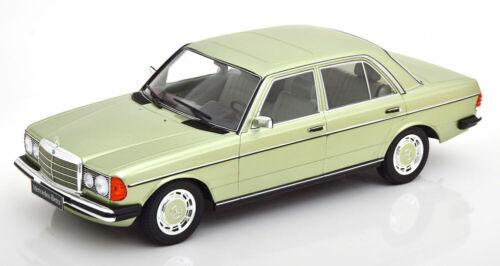 1:18 KK-scale mercedes 280e w123 1977 lightgreen-Metallic