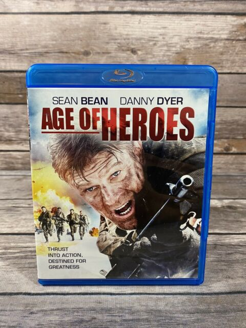Age of Heroes (Blu-ray Disc, 2012) Sean Bean Danny Dyer Action Film MINT Disc