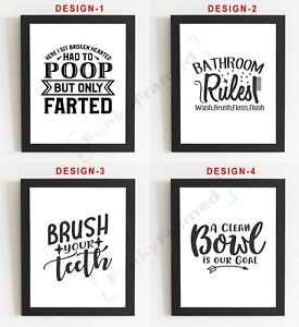 Bathroom-Wall-Art-Bathroom-Prints-Bathroom-Pictures-Funny-Toilet-Word-Art