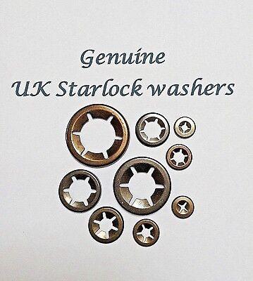 Star lock locking washers Genuine  12mm pack of 10