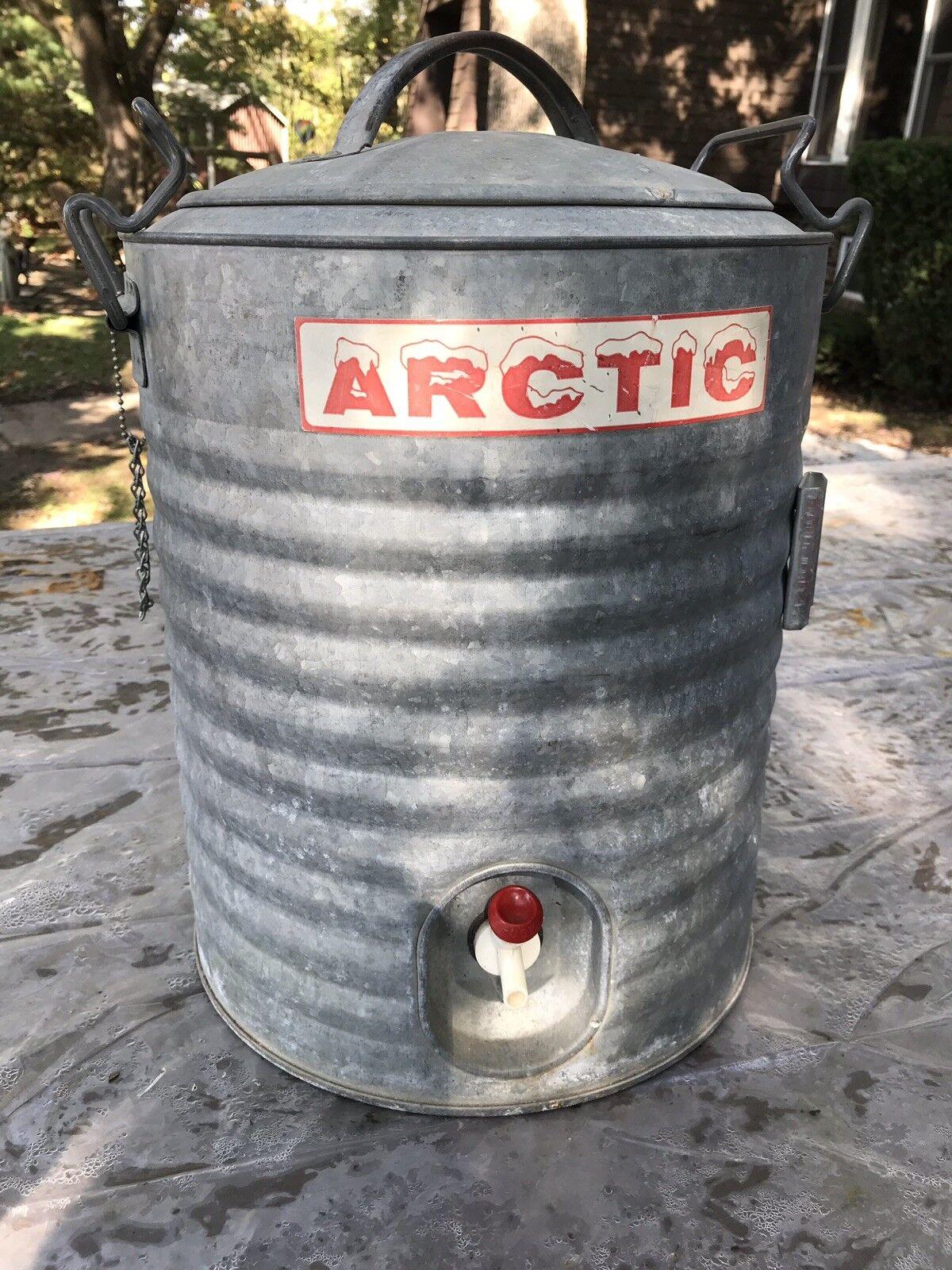 Vintage Arctic (5 Gallon) Metall Wasserkühler