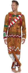 LICENSED FORTNITE PJ Sleeper Union Suit 1-piece Merry Marauder Gingerbread