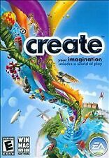NEW SEALED Create WIN MAC Imagination Video Game PC EA experiment play create