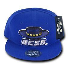 d91bc7847cc Blue UC Santa Barbara Gauchos UCSB NCAA Flat Bill Snapback Ball Baseball  Hat Cap