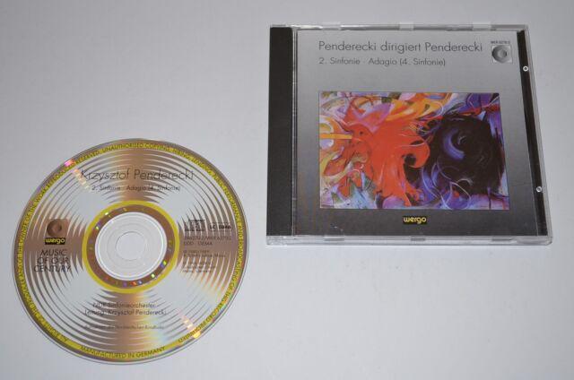 Krzysztof Penderecki Dirigiert Penderecki - Sinfonien 2 & 4 / Wergo 1994 / Rar