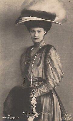 ****original Postcard***kronprinzessin Cecilie-adel-preussen-prussia-kaiserhaus