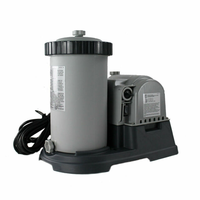 Intex Saltwater System Filter 15000 Gal Above Ground Swimming Pool Chlorinator For Sale Online Ebay