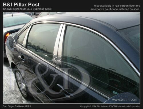 CHEVY IMPALA CHROME PILLAR POSTS 2006-2013 6PCS