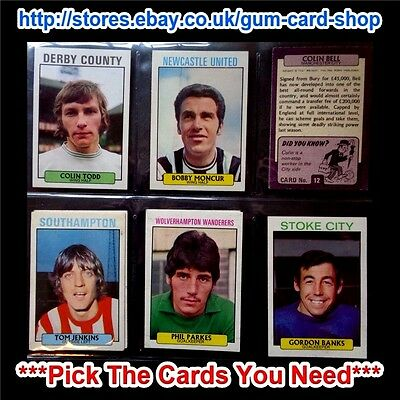 A/&BC Purple Back 1st Series Football Cards 1971 Pick The Cards You Need! VGC