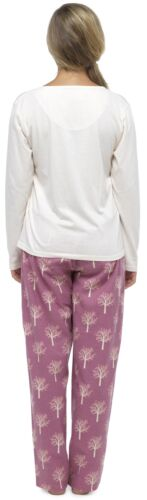 Foxbury Ladies Floral Animal Print Pyjama Set