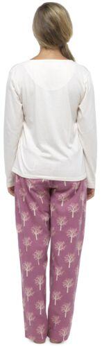 Foxbury Ladies Floral Animal Print Pyjama Set