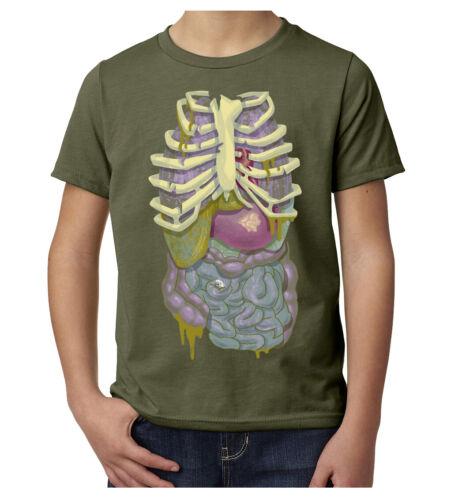 Kid/'s Graphic Tees Funny Halloween Shirts Kids Zombie Guts Costume Shirts